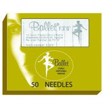 Ballet Gold Plated Needles K4 004 (x50)
