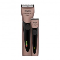 Wahl Limited Edition Rose Gold Chromstyle and Chromini Cord/Cordless Clipper and Cordless Trimmer