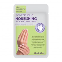 Skin Republic Hand Mask Nourishing Avocado 18g