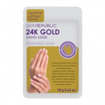 Skin Republic Hand Mask 24K Gold Foil 18g