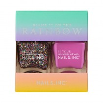 Nails Inc Blame It On The Rainbow Duo Kit