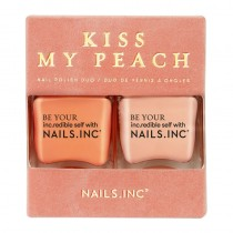 Nails Inc Kiss My Peach Duo Kit