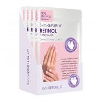 Skin Republic Hand Mask Age Defying Retinol 18g Pack Of 10