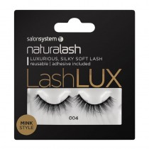 Salon System Naturalash Lashlux Black Minx Style Strip Lashes