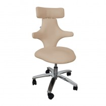 Lotus Monroe Therapist Stool Taupe