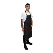 Hair Tools Pinstripe Barber Apron