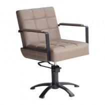Lotus Westbury Taupe Styling Chair With 5 Star Base