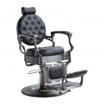 Lotus Gilbert Black Barber Chair