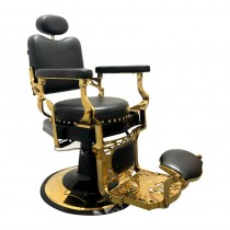Lotus Byron Black Barber Chair