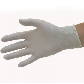 Pro Natural Latex Disposable Gloves x 50 Pairs Large