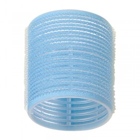 Jumbo Velcro Rollers Light Blue 56mm x 6
