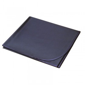 PVC Protective Floor Covering 132cm x 150cm Black