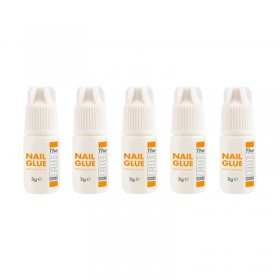 The Edge Nail Glue 3g 5 pack