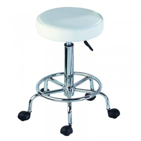 Lotus Compact Beauty Stool with Footrest