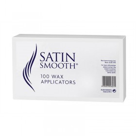 Satin Smooth Wax Applicators (100 per pack)