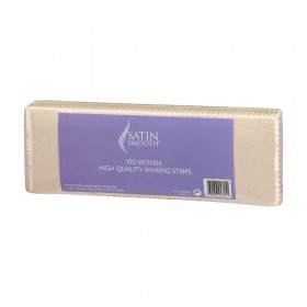 Satin Smooth Woven Fabric Waxing Strips (Pack of 100) by BaByliss Pro