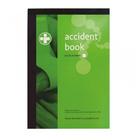 Accident Report Book - Data Protection Compliant
