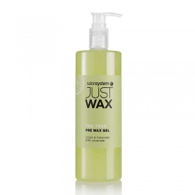 Just Wax Tea Tree Pre Wax Cleansing Gel 500ml