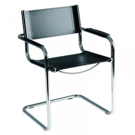 Delta Waiting Chair Black