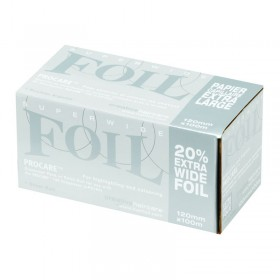 Procare Extra Wide Foil Refills Silver 120mm x 100m