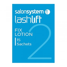 Salon System Lashperm Fixing Lotion (15 x sachets)