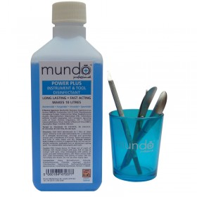 Mundo Power Plus Concentrated Instrument & Tool Disinfectant 500ml