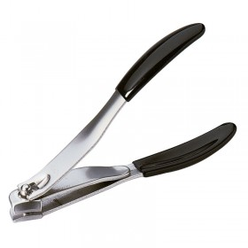 Sibel Nail Clipper - Slanted Cut with Rubber Grip