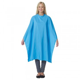 Salons Direct Pop Shot Ocean Blue Gown with Popper Fastener