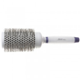 Sibel White Silicon Gel Tourmaline Nylon Brush 360 53mm