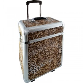 Deo Leopard Skin Beauty Case Large