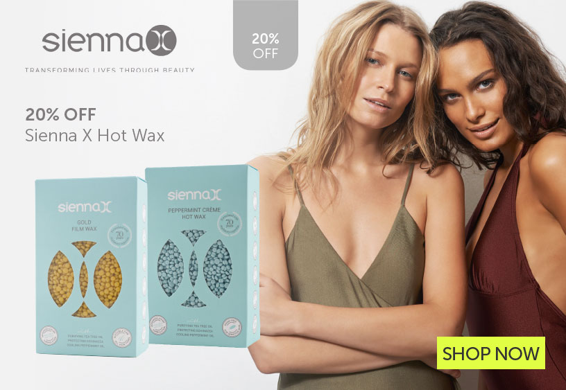 Sienna Hot Wax | Salons Direct