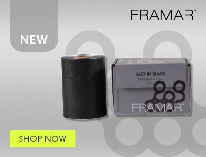 Framar Black Foil | Salons Direct