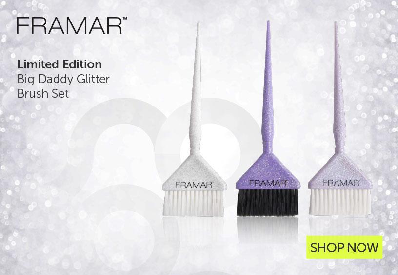Big Daddy Glitter Brush Set    Salons Direct
