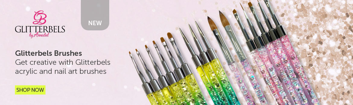 Glitterbels Brushes | Salons Direct