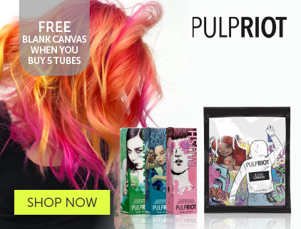 Pulp Riot Blank Canvas Offer | Salons Direct